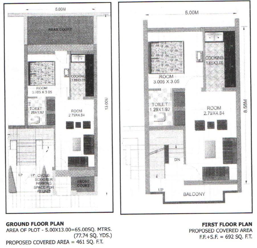Housing Board Flats Floor Plans
