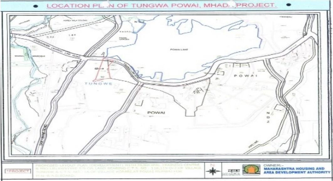 Mhada Housing Project In Tungwa Powai