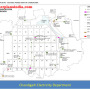 existing electricity power supply map chandigarh