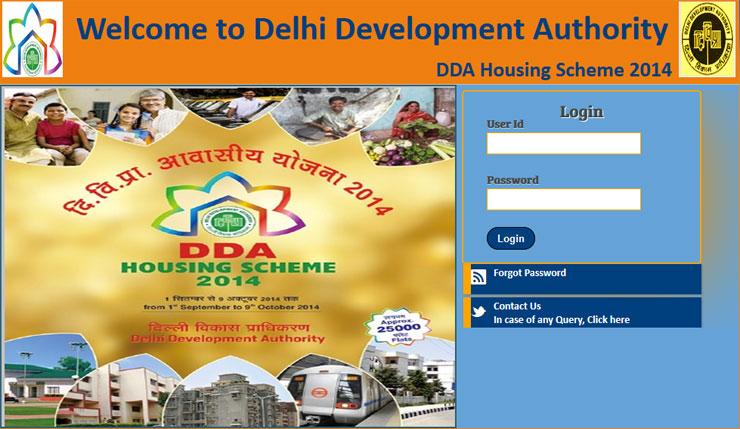 Check DDA Allotment Status