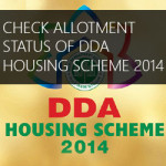 DDA Allotment Status Online