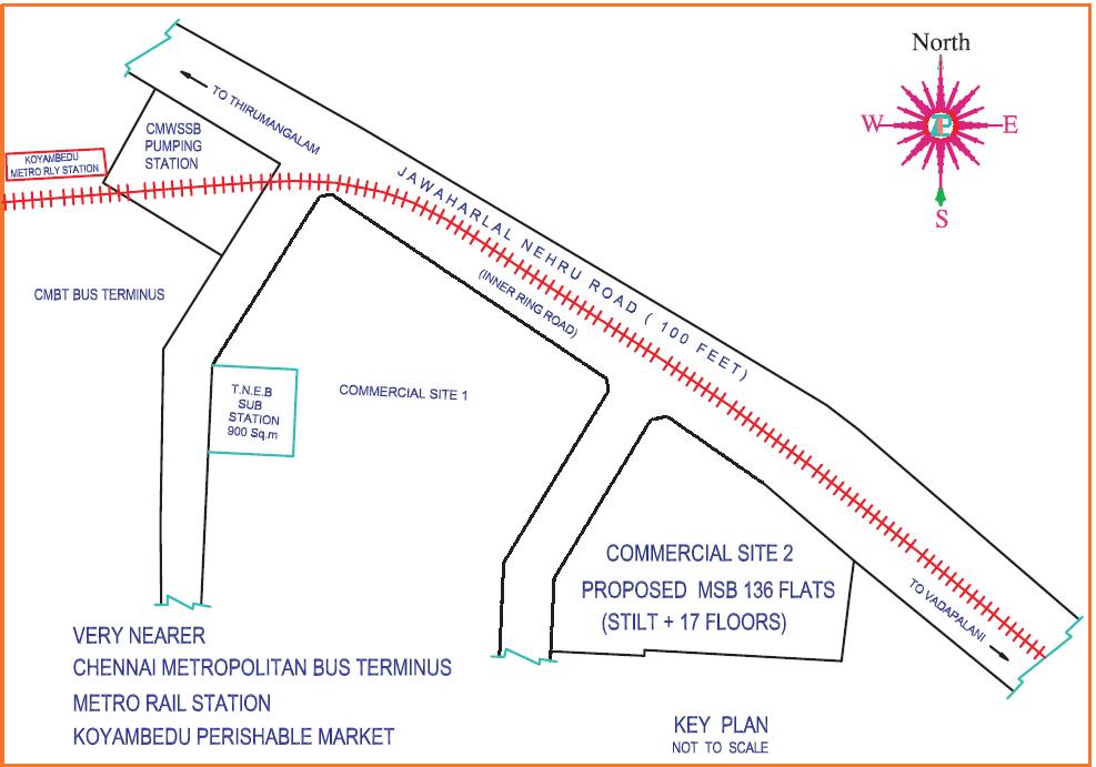 TNHB New Housing Scheme at at SAF Games Village Chennai