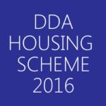 DDA Housing Scheme 2016