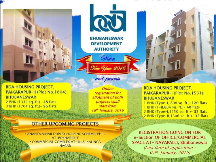BDA Paikarapur-I and Paikarapur-II Housing Project