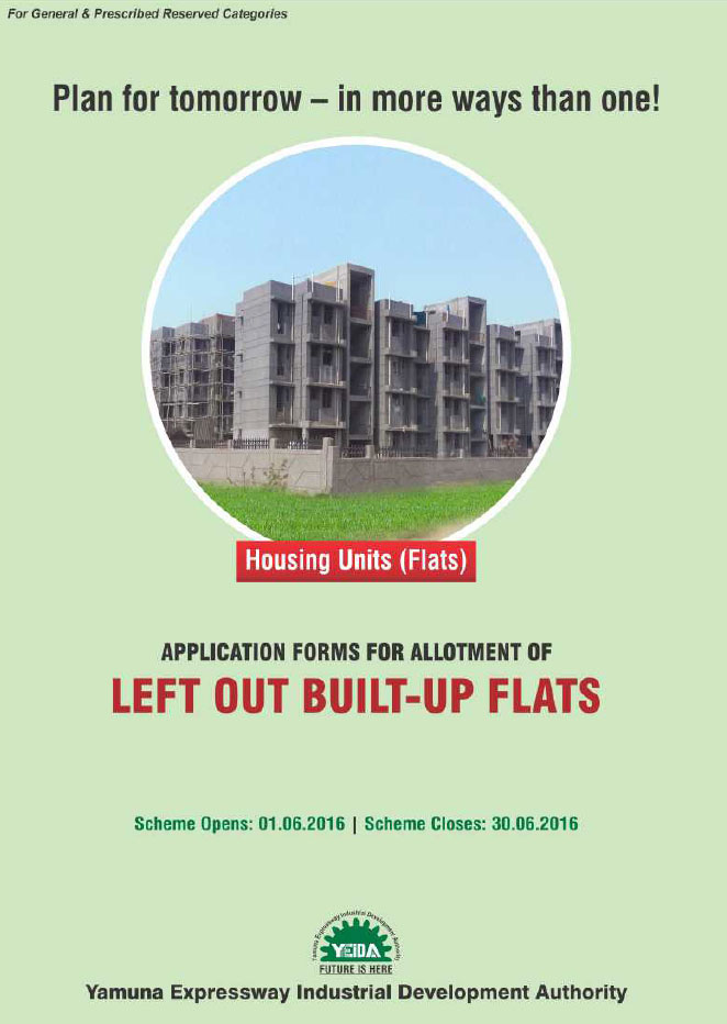 BHS-07/2016: Leftout Builtup Flats Scheme in Sector 22D