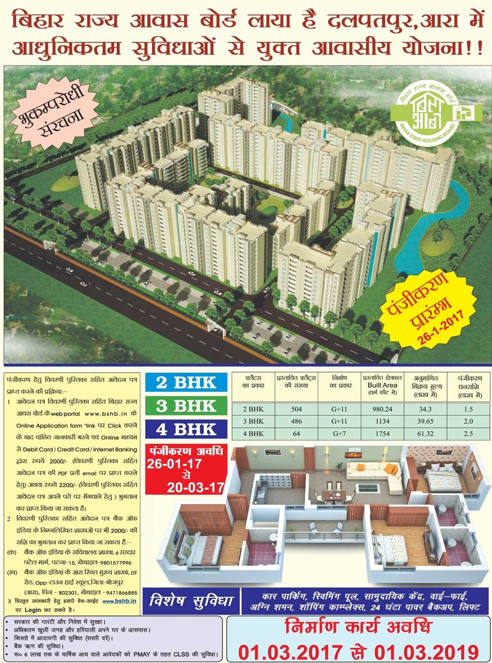 BSHB Ara Housing Scheme 2017