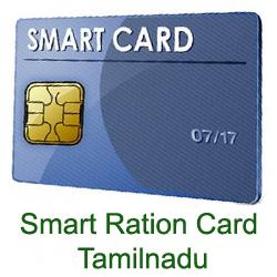 Smart Ration/Family Card TamilNadu