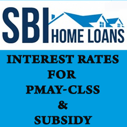 PMAY SBI Bank Home Loan
