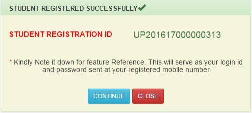 Student Registration ID