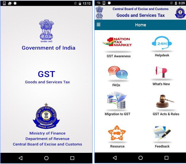 (CBEC GST) GST Rate Finder App