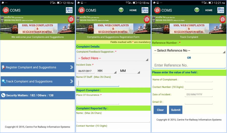 Indian Rail SAARTHI App Download for Tickets Booking / Running Status