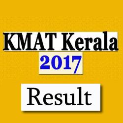 KMAT Kerala 2017 Results