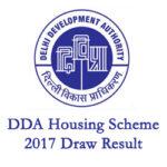 DDA Flat Scheme 2017 Draw Result