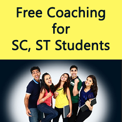 Free Coaching for SC, ST Students