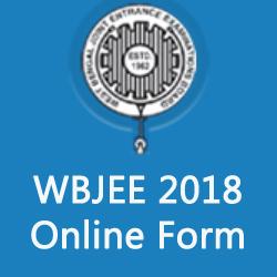 WBJEE 2018 Form Online