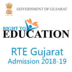 RTE Gujarat Admission 2018-19