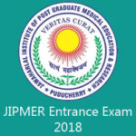 JIPMER Entrance Exam 2018