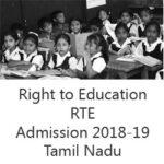 RTE Tamilnadu 2018-19