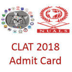 clat hall ticket 2018