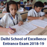 Excellence School Entrance Exam 2018