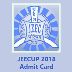 JEECUP 2018 Admit Card Download