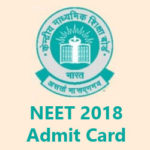 NEET 2018 Admit Card Download