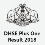 DHSE Plus One Result 2018