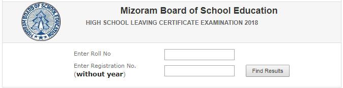 mbse edu in - Check Mizoram Board HSLC Class 10th Result 2018