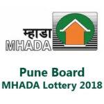 Pune Board MHADA Lottery 2018