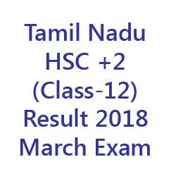 TN HSC Result 2018