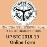 UP D.El.Ed 2018-19 Admission