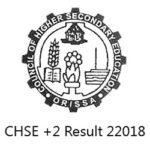 CHSE Odisha Class 12 Result 2018