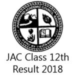 JAC Class 12th Result 2018