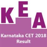 Karnataka CET 2018 Result