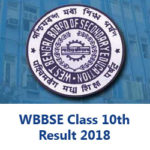 WBBSE Class 10th Result 2018