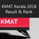 KMAT Kerala 2018 Rank