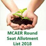Maha Agri Allotment List 2018