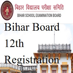 Bihar Board 12th Registration Online