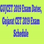 GUJCET 2019 Application Form