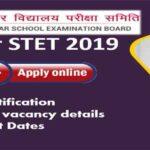 Bihar STET Application 2019