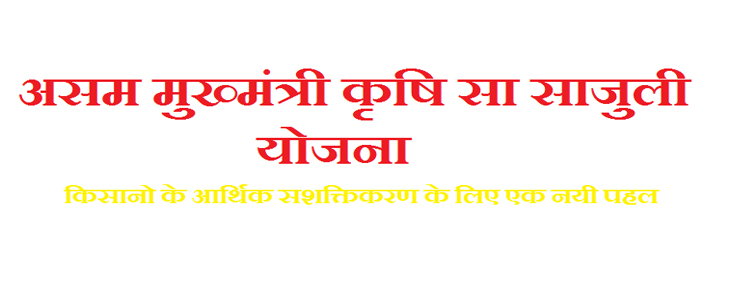 Apply For Mukhya Mantri Krishi Sa-Sajuli Yojana Assam Application Forms &  Beneficiary List - Master Plans India