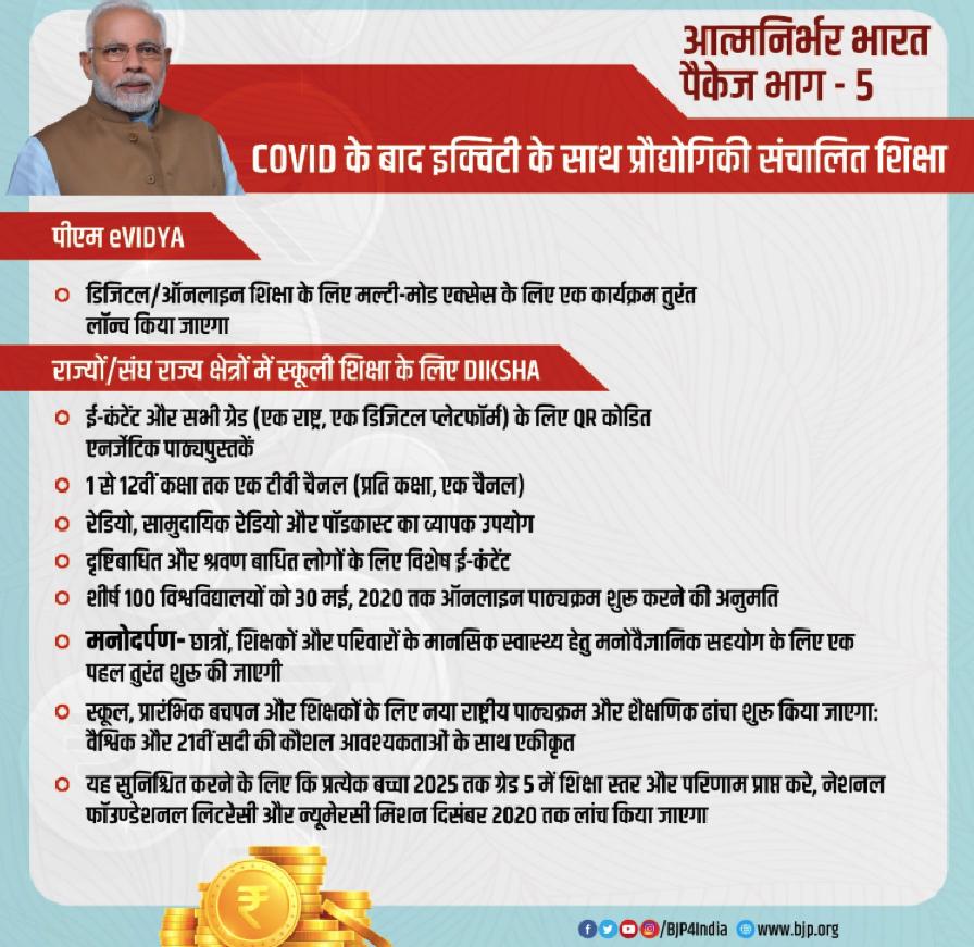 PM E-Vidya Portal Scheme