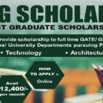 AICTE PG Scholarship Scheme 2020 21