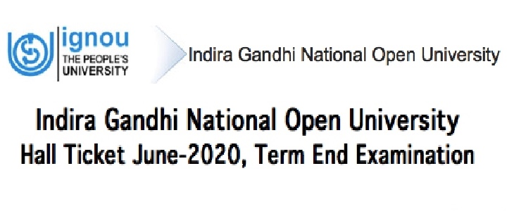 IGNOU Hall Trict June 2020