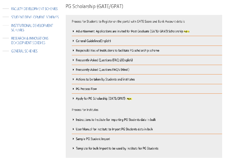 PG Scholarship GATEGPAT
