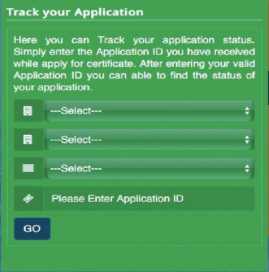 Shravan Bal Yojana Application Tracking Status