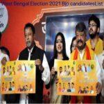 WB BJP Candidates List